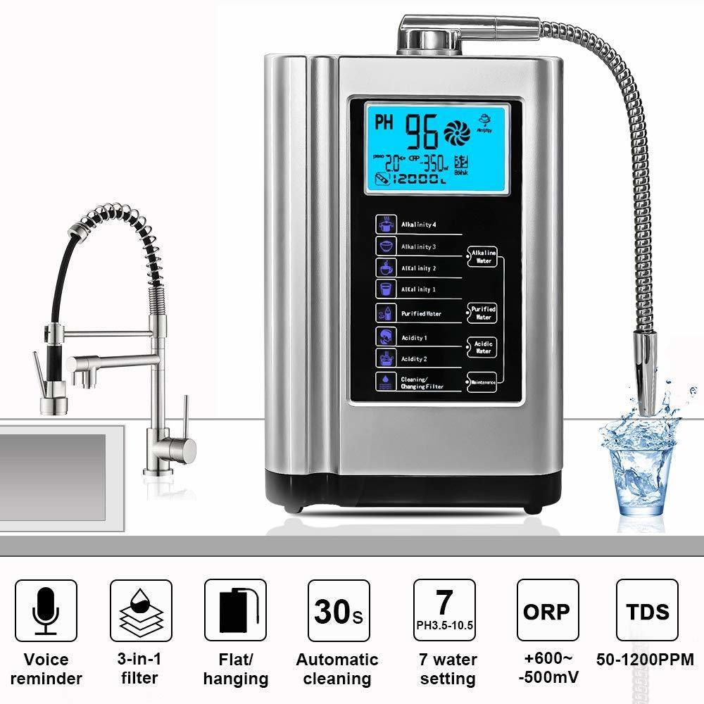 The best household hydrogen rich alkaline water ionizer with 7 plates EHM-729
