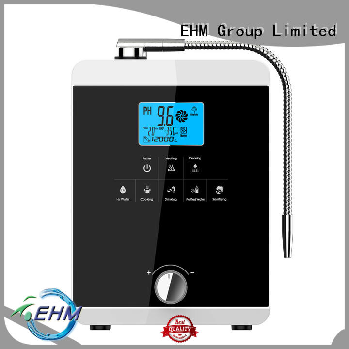 EHM high ph alive water ionizer for sale for family
