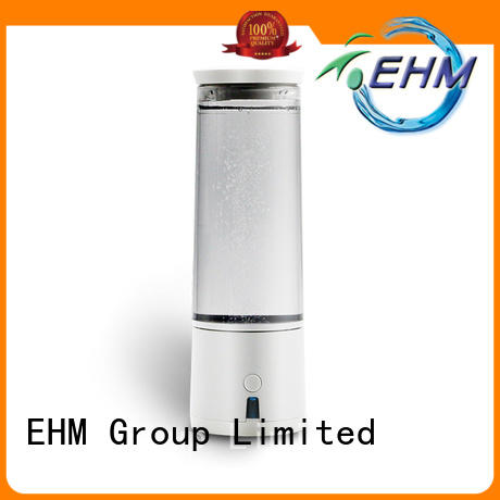 electrolysis hydrogen generating water bottle rechargable for pitche EHM