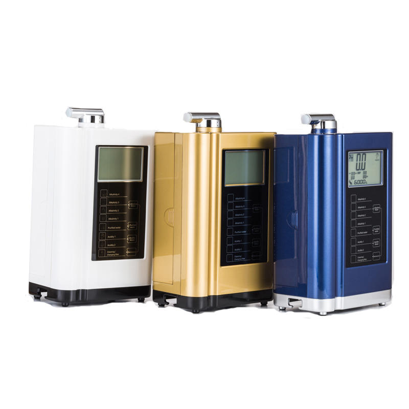 household alkaline water ionizer with 7 plates EHM-729