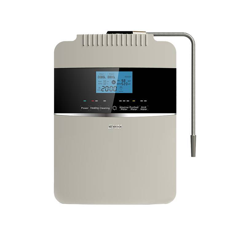 high pH value 8 plates water ionizer filter EHM-929