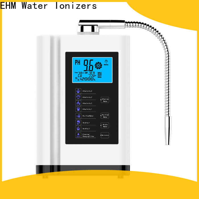 professional water purifier alkaline ionizer home from China for purifier