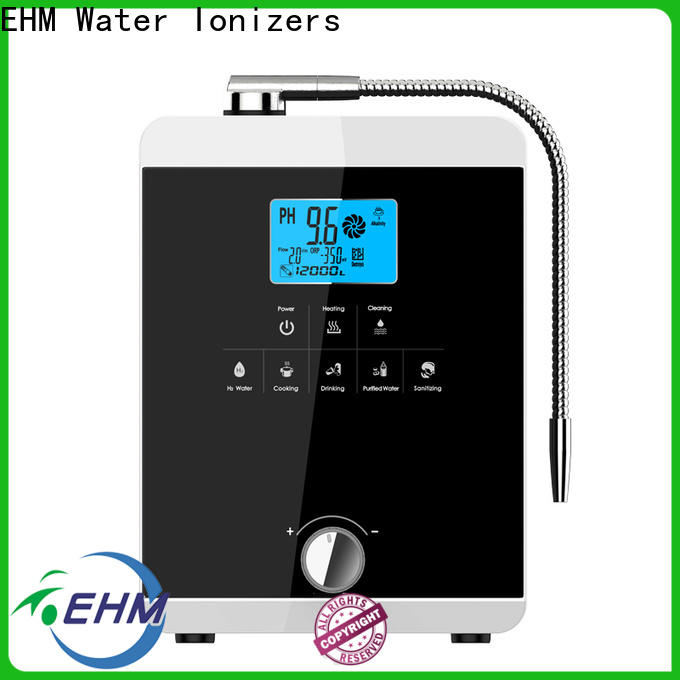 hydrogen-rich top rated alkaline water machines alkaline company for family