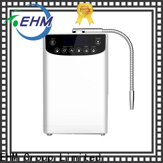 EHM professional professional platinum water ionizer supplier for filter