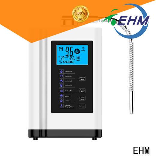 EHM titanium ehm 729 water ionizer supplier for purifier