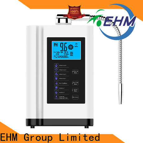 EHM stable water ionizer and alkaline water machine inquire now for health
