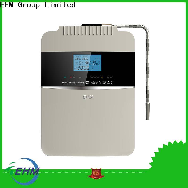 EHM professional water alkaline machines series for filter