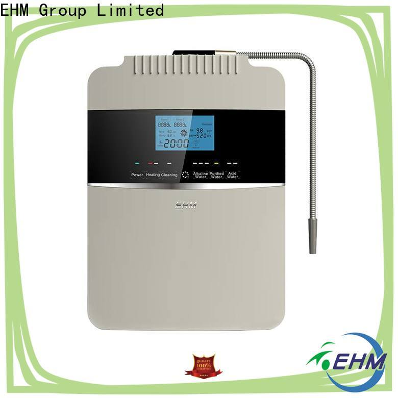 EHM top selling alkaline water machine reviews with good price for home