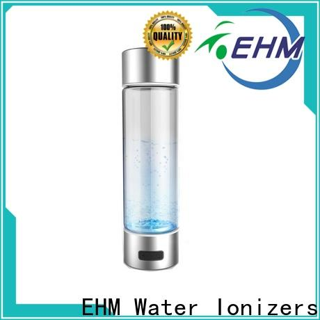 EHM worldwide hydrogen water bottle reviews series for home use