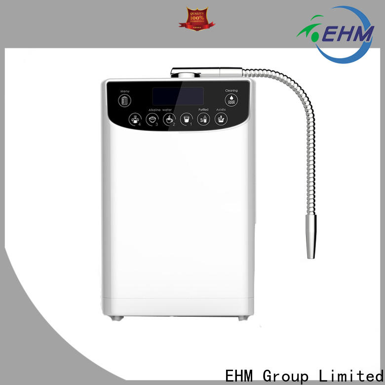 EHM hot-sale water ionizer reviews supply for family
