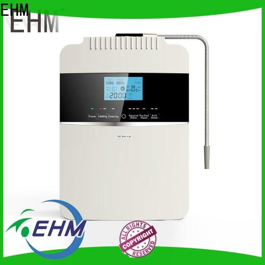 EHM energy-saving alkaline water ionizer reviews best manufacturer for dispenser