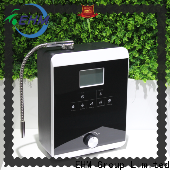 EHM water ionizer machine reviews factory direct supply for health