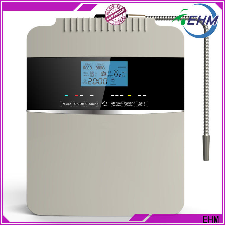 cheap counter top ionized water machine manufacturer for filter