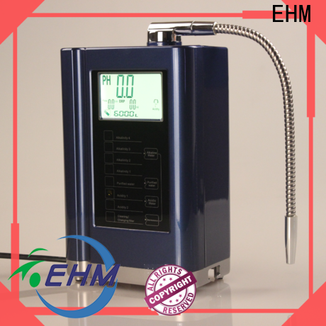 EHM professional platinum water ionizer from China for filter