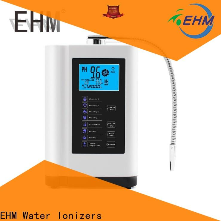 EHM antioxidant best alkaline water machine manufacturer for filter