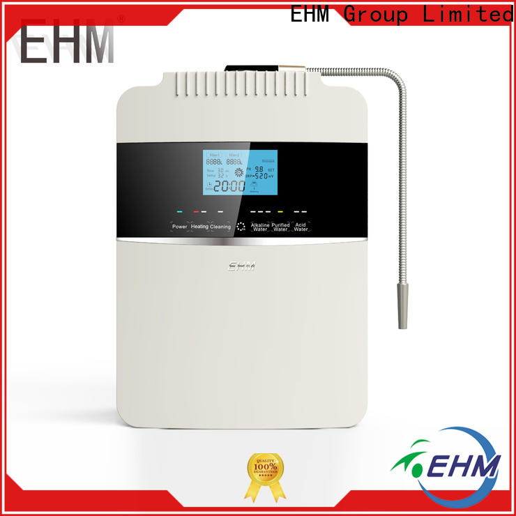 EHM water alkaline machines factory for filter