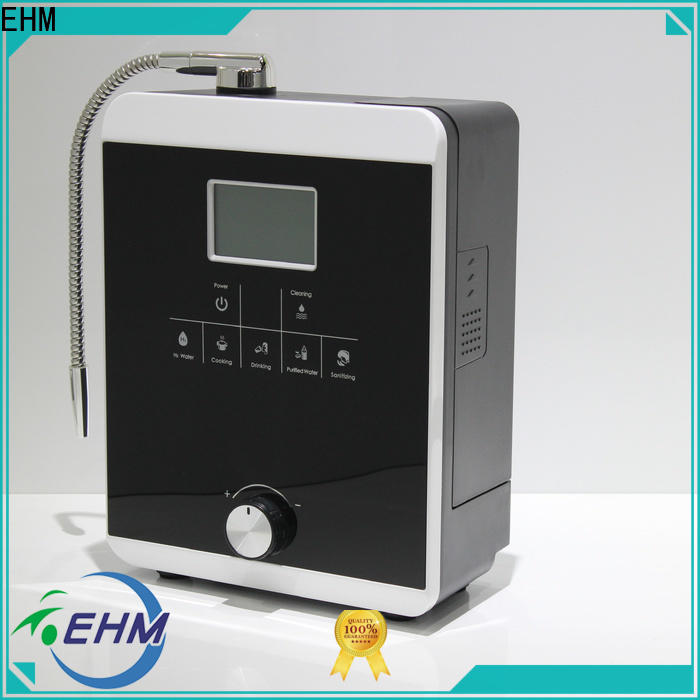 EHM water ionizer and alkaline water machine factory on sale