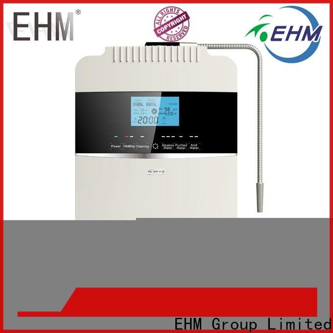 EHM Ionizer factory price alkaline water purifier machine best manufacturer for home