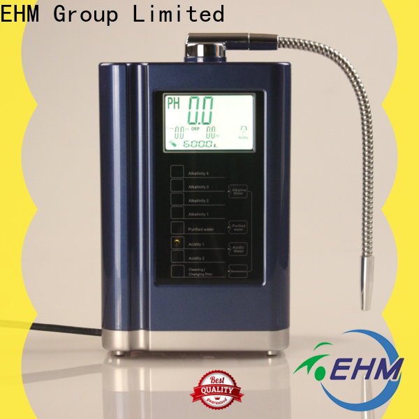 EHM Ionizer hydrogen-rich hydrogen water ionizer directly sale for home