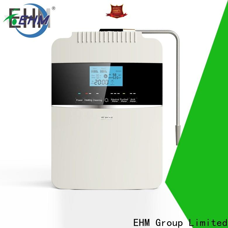 EHM Ionizer high-quality alkaline water ionizer reviews from China for family