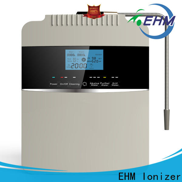 EHM Ionizer alkaline filtration system best manufacturer for filter
