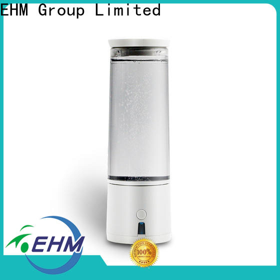hot-sale portable hydrogen generator by water electrolysis flask supplier for bottle