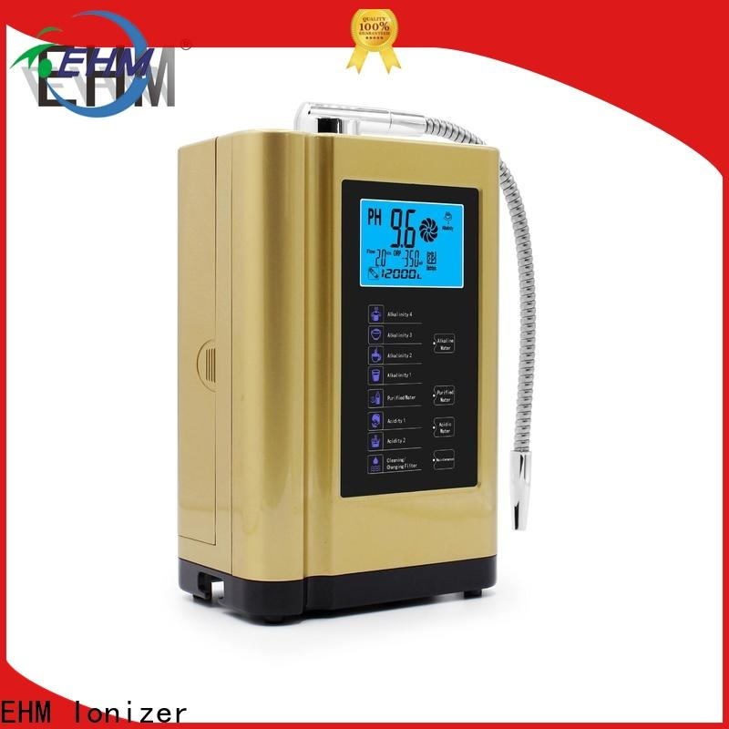 EHM Ionizer hydrogenrich ehm alkaline water pitcher directly sale for filter