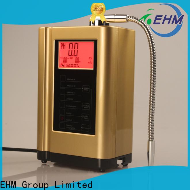 EHM Ionizer practical 7 plate alkaline water ionizer manufacturer for purifier