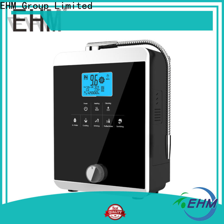 EHM Ionizer hydrogen-rich alkaline filtration system manufacturer for home