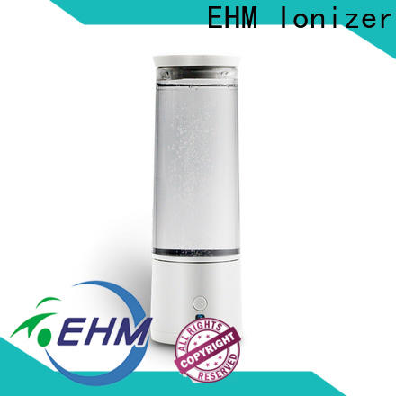 EHM Ionizer ehmh4 best hydrogen water bottle manufacturer for pitche