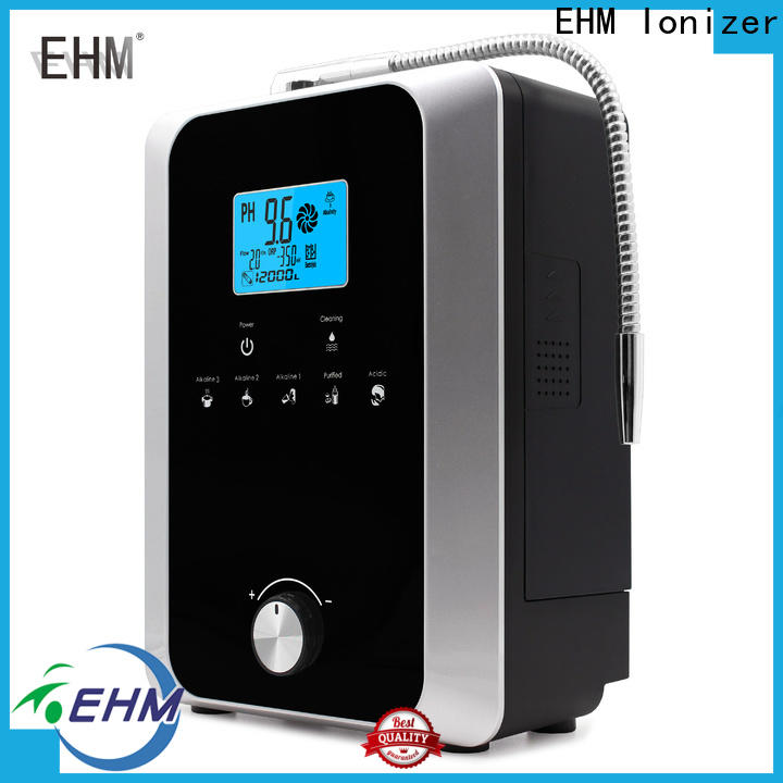 EHM Ionizer high-quality platinum alkaline water ionizer filter factory for family