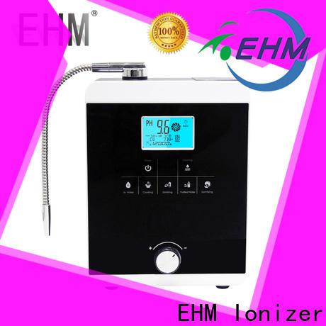 EHM Ionizer hydrogen alkaline water machine factory direct supply for home