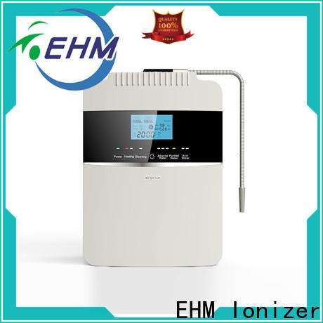 EHM Ionizer home used alkaline filters water supplier for home
