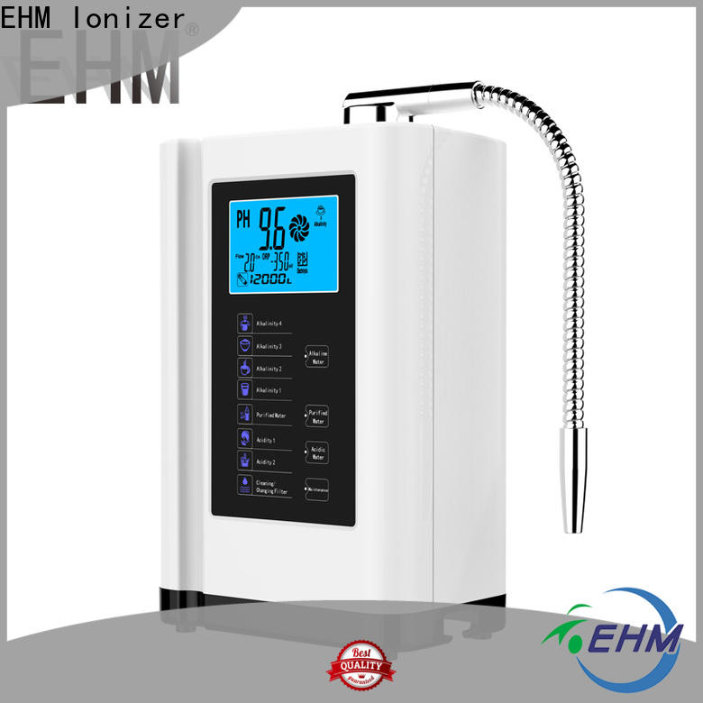 EHM Ionizer reliable hydrogen alkaline water directly sale for family