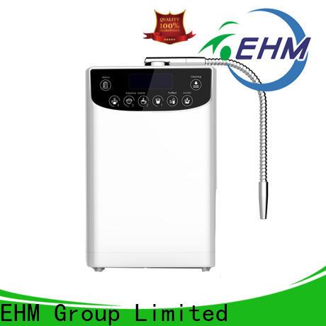 EHM Ionizer ph top alkaline water machine supply for filter