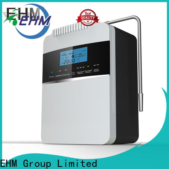 EHM Ionizer alkaline water filtration pitcher wholesale for dispenser