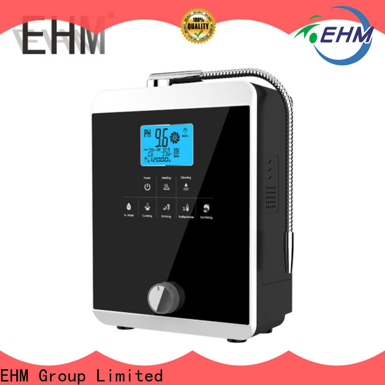 EHM Ionizer antioxidant best home alkaline water systems from China for filter