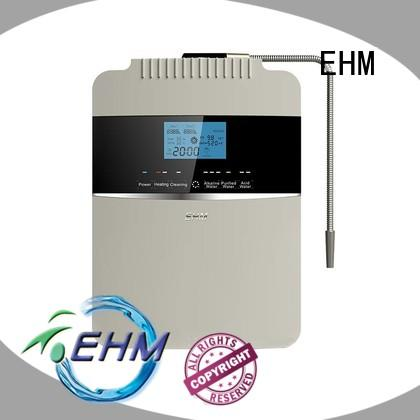 EHM ph alkaline water purifier machine company for dispenser
