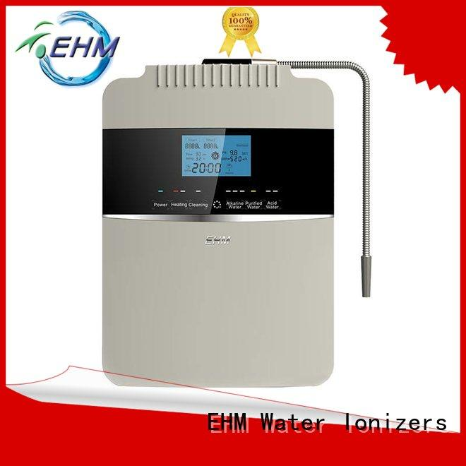 high pH value 8 plates water ionizer EHM-929