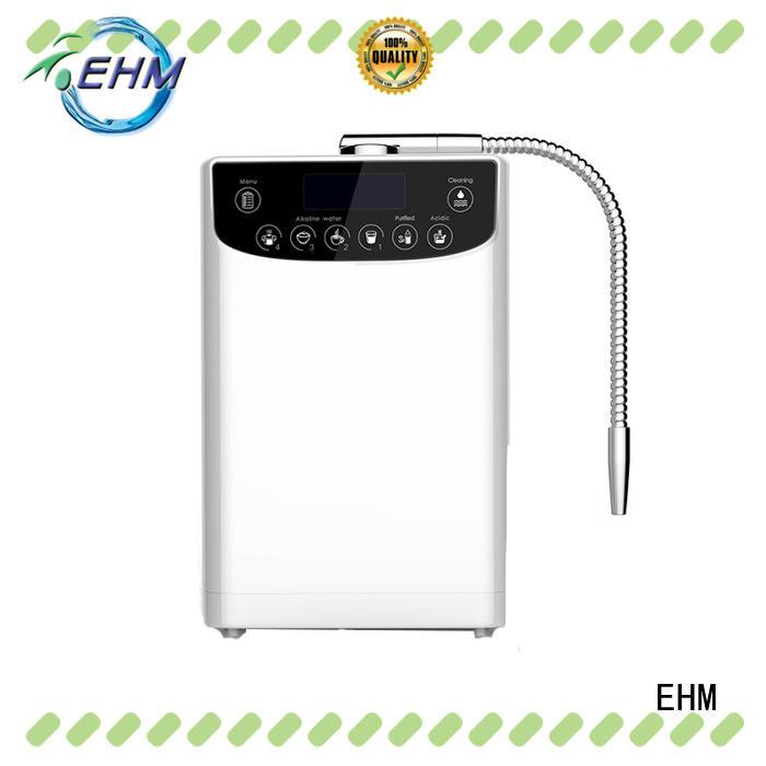 EHM hygienic water ionizer and alkaline water machine supplier for purifier