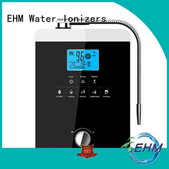 hydrogenrich hydrogen water ionizer manufacturer for filter EHM