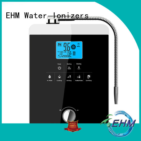 EHM home drinking alkaline water ionizer reviews ionizer for filter