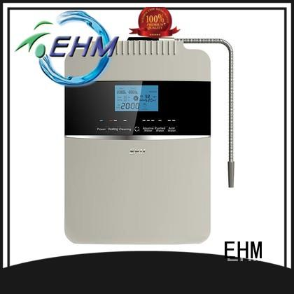 EHM home alkalized water machine with good price for purifier