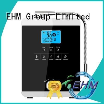 EHM hydrogen-rich alkaline water maker manufacturer for filter