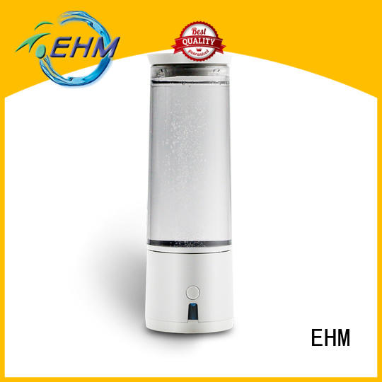 EHM rechargable hydrogen alkaline water generator for reducing wrinkles