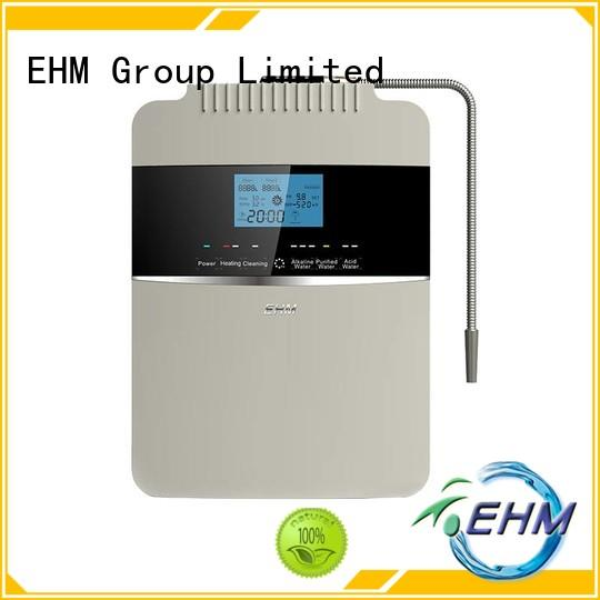 EHM hydrogenrich best ionized water machine manufacturer