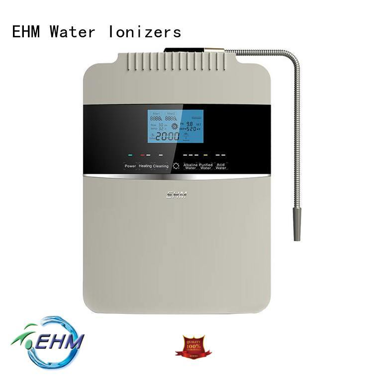 EHM ionizers alkalized water machine alkaline for purifier