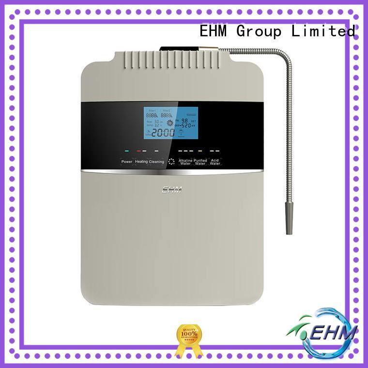 EHM high ph alkaline water filter machine machine for purifier
