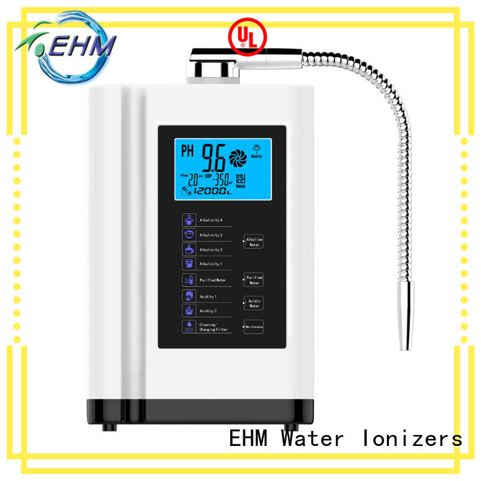EHM reliable hydrogen water ionizer wholesale on sale