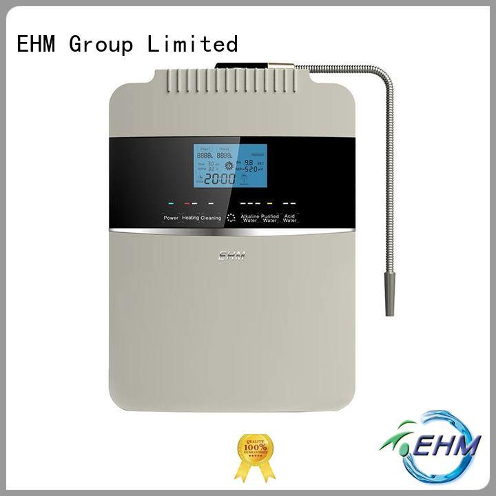 EHM alkaline water ionizer and alkaline water machine osmosis for family